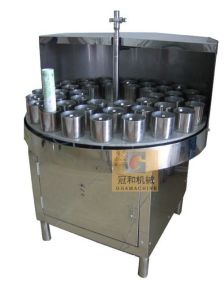 Semi-Auto Bottle Washing Machine (for Round Bottle)  (GHXP-24) pictures & photos