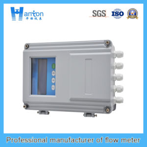 Normal-Temperature Plug-in Handheld Ultrasonic Flowmeter pictures & photos