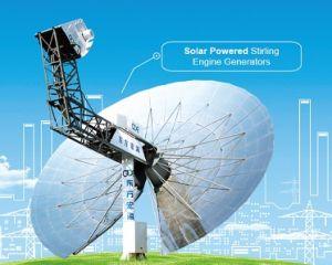 China Solar Powered Stirling Engine Generator (25kW) - China Solar