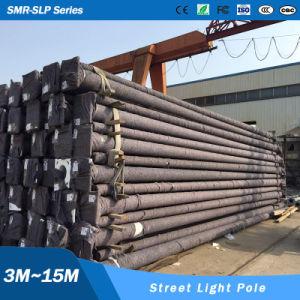 6m 8m 10m Street Lighting Pole Hot-Dipped Galvanized Pole with Plastic Powder Coating