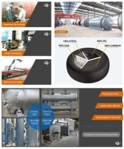 Waste Tire to Oil Plant with Ce, SGS, ISO pictures & photos