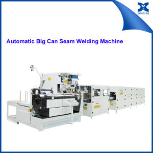 Automatic Conical Paint Can Body Seam Welding Machine pictures & photos