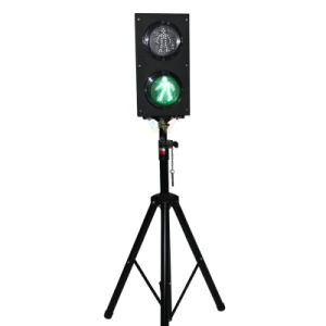 New Design 125mm Pedestrian Light Pole LED Traffic Light pictures & photos