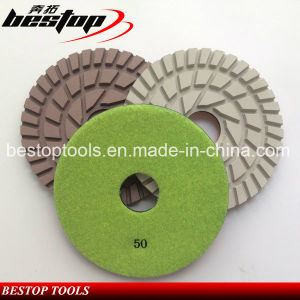100mm Engineered Stone/Granite Flexible Polishing Pads pictures & photos