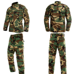 Black and Camouflage Army Military Uniform Acu pictures & photos