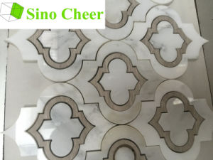 Marble Waterjet Mosaic Tiles Patterns pictures & photos