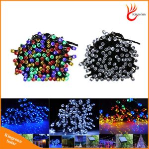 Solar LED String Light Lamp 200LED 22m and 100LED 12m Christmas Garden Party Wedding Decoration Lighting RGB Colorful Lights pictures & photos