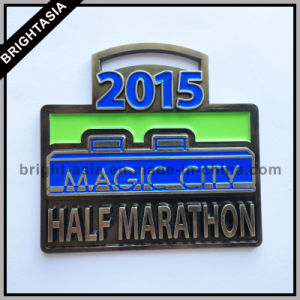 Half Marathon Zinc Alloy Metal Medal for Sport (BYH-101173) pictures & photos