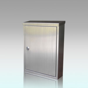 Gh-3331 Stainless Steel Wall Mounted Square Mailbox