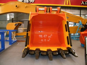 0.4-8m3 Excavator Bucket According to Excavator Tonnage pictures & photos