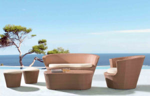 Outdoor Alu Leisure Rattan Sofa pictures & photos