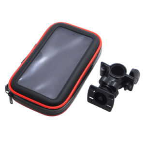 Colorful 4 Size Zipper Motorcycle Bike Handlebar Holder Mount Bag / Bicycle Waterproof Phone Bag Case / Bike Mount Case for Smart Mobile Cell Phone. pictures & photos