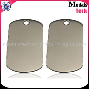 Hot Sale Metal Cheap Wholesale Stainless Steel Blank Dog Tags pictures & photos