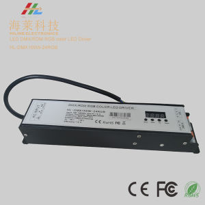 DMX/Rdm RGB Color LED Power Supply 24V 150W pictures & photos