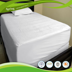 Waterproof Abstract Terry Top Fitted Waterproof Mattress Protector pictures & photos