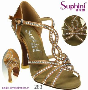 China Wholesale Suphini 2017 Latinsalsa Dance Shoes Women 10cm