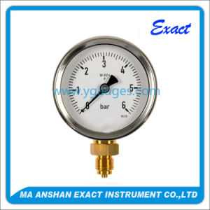 Commercial Pressure Gauge Dry Type, Stainless Steel Case