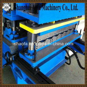 Glazed Metal Roof Tile Making Steel Profile Roll Forming Machine pictures & photos