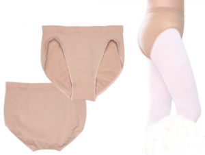Velvet Flesh/Nude Color Dance Underpants pictures & photos