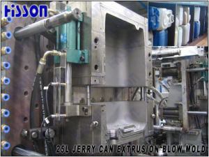 25L Jerry Can Extrusion Blow Mold with Automatic Deflashing Device pictures & photos