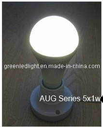 LED E27 Bulb for Indoor Lighting (E27-G-1W5-AUG-S)