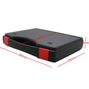 Safety Good Price Simple Carrying Plastic Case with Customized Foam