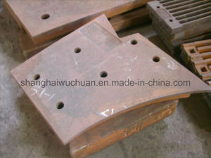 Manganese Casting Liner for Shredder pictures & photos