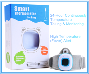 Digital Body Temperature Thermometer for Baby with Bluetooth Wireless Control
