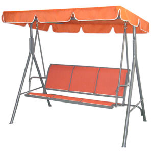 China 3 Seater Textilene Swing Chair Hjsw 817 China 3 Seat