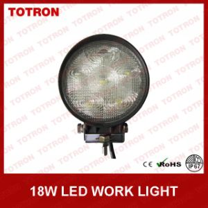 High Quality 18W LED Work Light for Trucks/Car/Boat