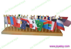 Montessori Material-36 Flags