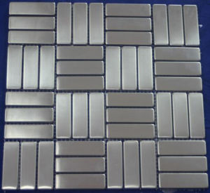Silver Stainless Steel Metal Mosaic Wall Tile (SM218) pictures & photos