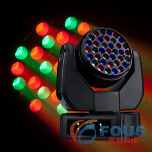 37PCS 3W RGB LED Moving Head Light / Moving Head LED / Stage Lighting