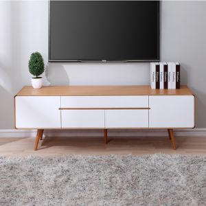 Awe Inspiring Satin White Wooden Tv Cabinet Tv Stand For Living Room A641 Creativecarmelina Interior Chair Design Creativecarmelinacom