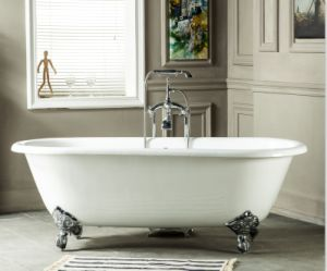 Freestanding Cast Iron Bathtub Enameled Bath Manufacturer