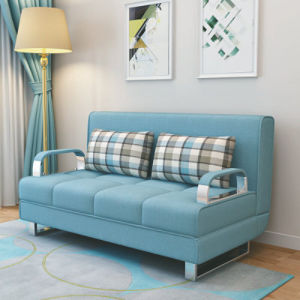 Fabric Modern Futon Loveseat Sofa Bed