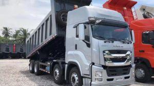 [Hot Item] Isuzu Giga 8X4 Dump Truck with 6uz1 Engine 380 HP