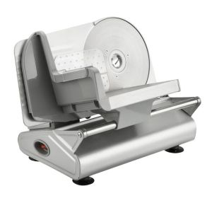 China Electric Food Slicer Deli Slicer Bacon Bread Fruit Vegetable Cheese  Slicer 19cm Serrated Stainless Blade-100/150W - China Meat Slicer Mincer  and Meat Slicer Equipment price