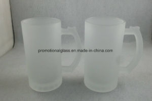 16oz Sublimation Frosted Glass Stein, Beer Mug