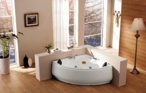Corner Bathtub Acrylic Fiberglass Massage Ba-M232 pictures & photos