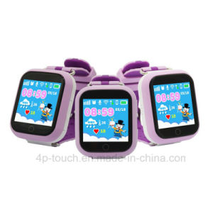 3G Touch Screen Kids Tracker Watch with Rotating Camera (D19) pictures & photos
