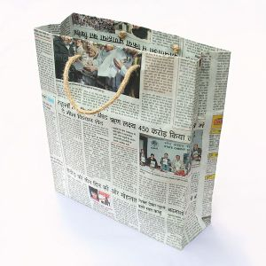 New Fashion Newspaper Paper Bags