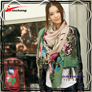 Custom Digital Print Modal Scarf (M067) pictures & photos