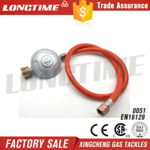German Style LPG Gas Pressure Regulator with Hose
