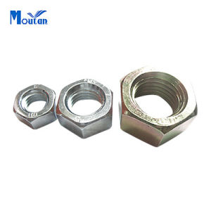 Zinc Plated Carbon Steel Hex Nuts