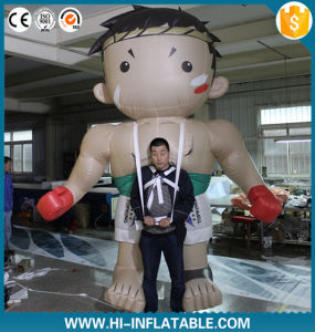 2016 Newwest Advertising Inflatable Moving Cartoon, Inflatable Character with Long Legs