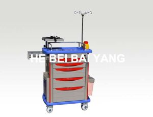 (B-90) Luxury ABS Emergency Trolley