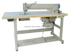 Long Arm Lockstitch Sewing Machine for Top Stitching Leather pictures & photos