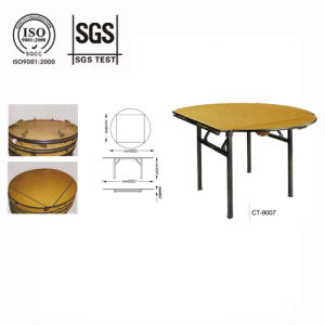 New Style Hotel Folding Table pictures & photos