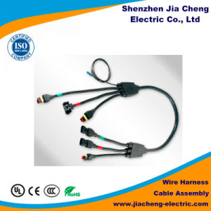 china automobile strong style color cable assembly china Cable Harness at Strong Wire Harness
